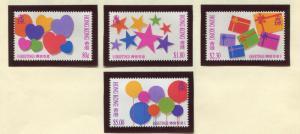 Hong Kong - Scott 661-664 - General Issue - 1992 - MNH - Set of 4 Stamps