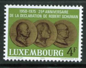 Luxembourg Scott 563 MNH** 1975  stamp