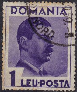 Romania - 1935 - Scott #448 - used