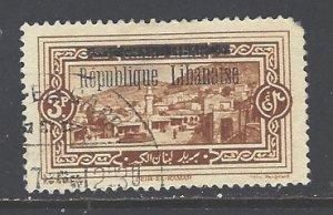 Lebanon Sc # 77 used (RS)