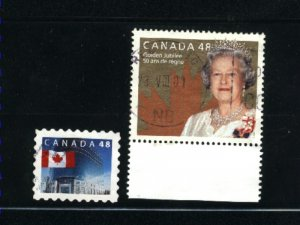 Canada #1931-32  -4  used VF 2002 PD