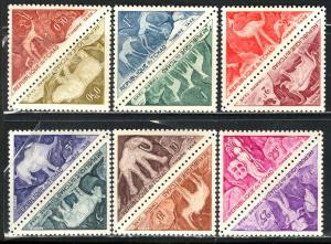 Chad 1962: Sc. # J23-J34; **/MNH Cpl. Set