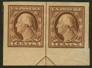 U.S. - 346 - Arrow Pair - SUPERB - Hinged