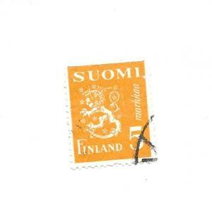 Finland 1946 - Scott #176F *