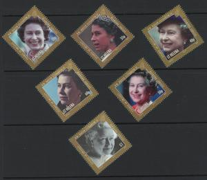 St. Helena Scott 1047-1052! Queen Elizabeth! Complete Set MNH!