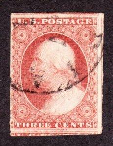 US 11 3c Washington Used F-VF (013)