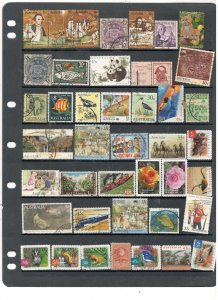 AUSTRALIA COLLECTION ON STOCK SHEET, MINT/USED