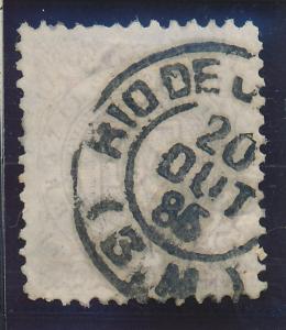 Brazil Stamp Scott #92, Used, Rio De Janeiro 1886 Cancel - Free U.S. Shipping...
