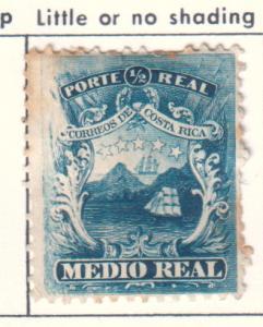 Costa Rica  #1 (U)   CV $0.40