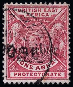 Zanzibar Scott 33a Gibbons 42j Used Stamp