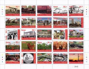 Kenya 2013 MNH Independence 50th Anniv 25v M/S I Prince of Wales School