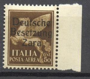 German Occupation Zara, Mi.24, MNH,