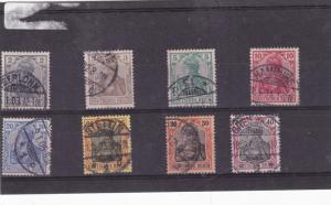 germany 1902 used  stamps  Ref 9285