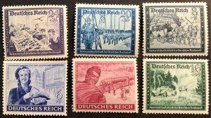Germany B272-77 MNH SCV $3.00