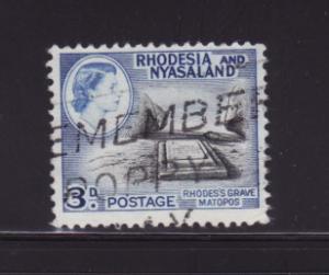 Rhodesia and Nyasaland 162 U Rhodes' Grave (C)