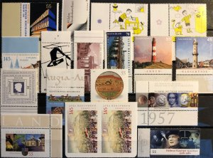 BRD 18 different MNH stamps - valid postage
