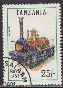 Tanzania 802 Russia 1834 1991