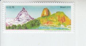2019 Brazil Relations with Switzerland (Scott NA) MNH