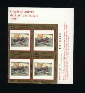 Canada #1635 Mint PB VF NH  1997 PD