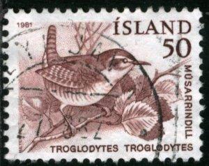 ICELAND #543, USED - 1981 - ICE593AFF6