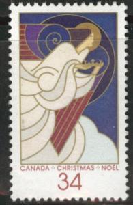 Canada Scott 1113 Christmas 1986 Angel MH*