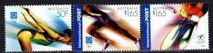 Australia #2260-62 CV $6.50 (X3282)