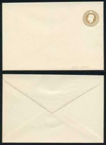 RS3 KGVI 5 1/2d Brown Stamped to Order Registered Envelope MINT RARE