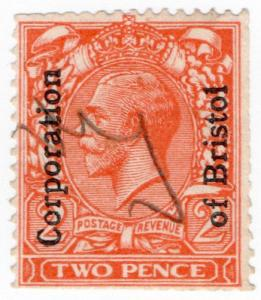 (I.B) George V Commercial Overprint : Bristol Corporation