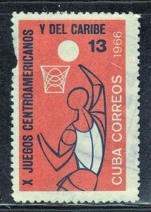 CUBA SC# 1117  **USED** 1966   13c   SEE SCAN