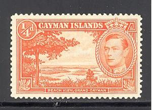 Cayman Islands Sc # 100 mint hinged  (DT)