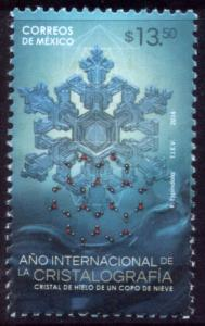 MEXICO 2907, International Year of Crystalography. MNH