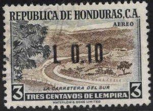 Honduras  Scott C491 Used  Airmail stamp