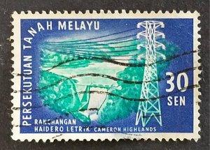Federation of Malaya #115 F-VF Used CV $1.50