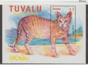 Tuvalu Scott #842 Stamps - Mint NH Souvenir Sheet