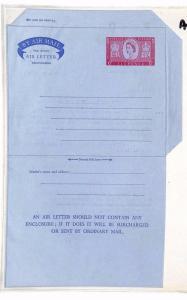 AV371 QEII GB Air Letter Postal Stationery