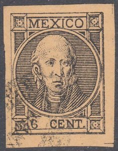 MEXICO  An old forgery of a classic stamp...................................C777