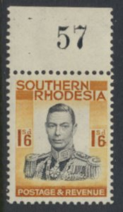 Southern Rhodesia  SG 49   SC# 51 Mint Never Hinged  see scans