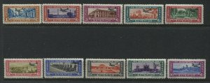 Guatemala 1937 Airmails overprinted to 50 centavos mint o.g. hinged