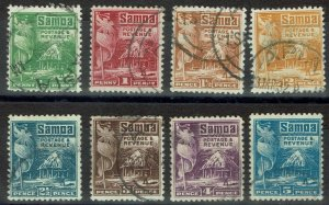 SAMOA 1921 HUT RANGE TO 5D PERF 14 X 13.5 USED