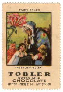 (I.B) Cinderella Collection : Tobler Chocolate Series 14 (Story Teller)