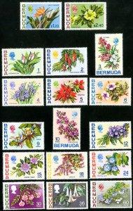 Bermuda Stamps # 239-54 MNH XF