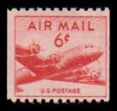 PCBstamps  C41 6c DC-4 Spymaster, coil, MNH, (2)