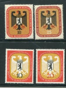 Berlin #9N116-119 Mint VF NH