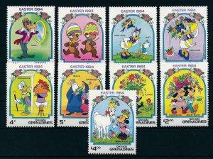 [22436] Grenada Grenadines 1984 Disney Characters Easter MNH