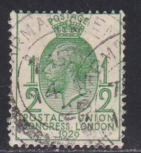 Great Britain, # 205, Postal Union, Used, 1/3 Cat.
