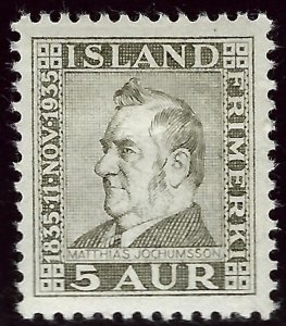 Iceland SC#196 Mint F-VF. hr...Quality lot!!