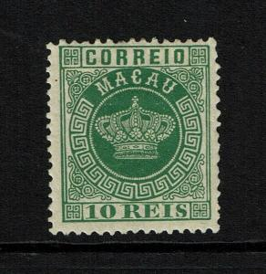 Macao SC# 3, Mint Hinged, Hinge Remnants, some gum creasing - S8297