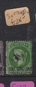 ST HELENA  (P0105B)  QV  1/-    SG 17   VFU