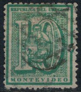 Uruguay #36  CV $4.00