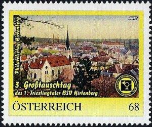 PM Österreich, Philatelietag Hirtenberg, Ortsansicht mit Kirche, Nr. 8122526 **